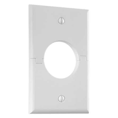 Single Gang Splitport™, White