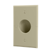 Splitport™ Recessed Wall Plate, Ivory
