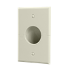 Splitport™ Recessed Wall Plate, Light Almond