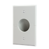 Splitport™ Recessed Wall Plate, White