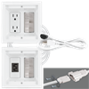 Power Jumper IC™- HDTV Power Kit, 15', white