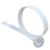 "1 3/4"" Dia. Pli Flange 10' Length, White"